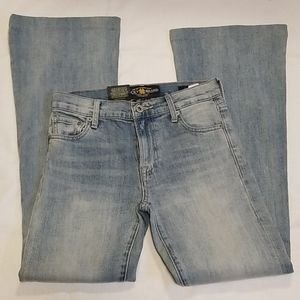 Lucky brand Olivia flare jeans, Sz 00/24 *tag*